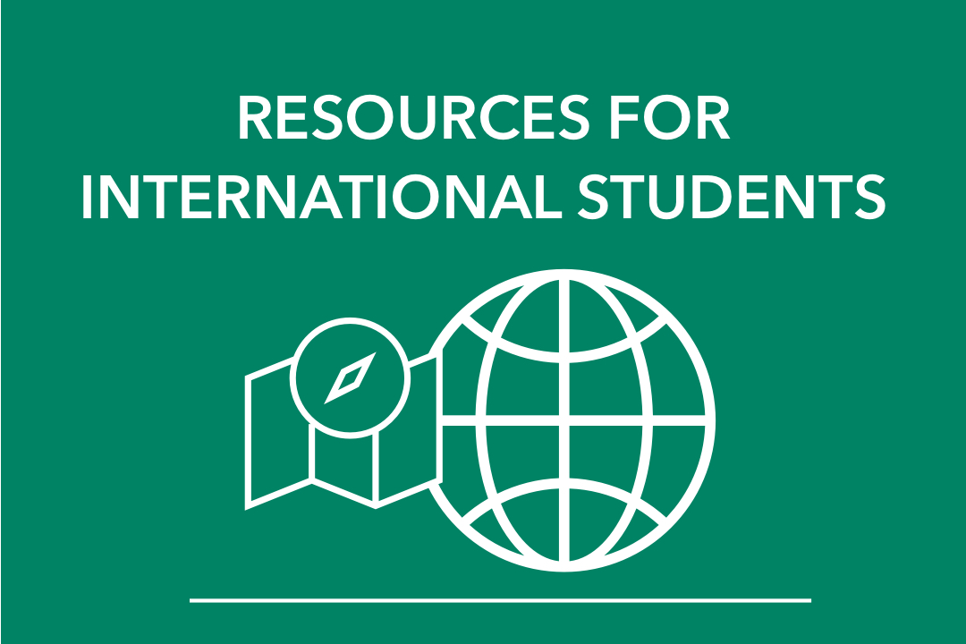 Resources for International Students